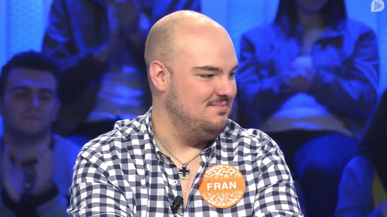 Fran González, actual ganador de 'Pasapalabra'. (Mediaset)