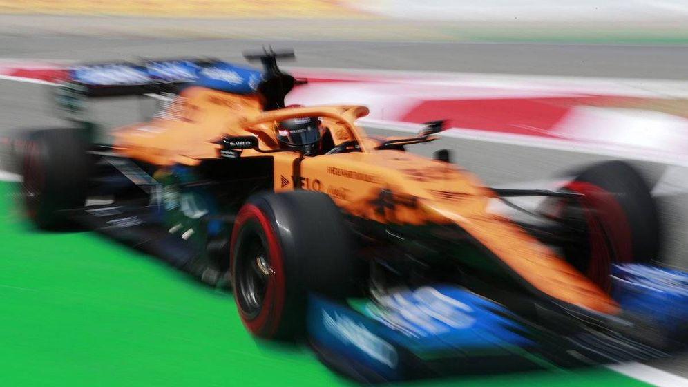 Foto: Sainz no se mostraba muy optimista para la carrera, aunque esperaba aprovechar su mejor ritmo a una vuelta (McLaren)