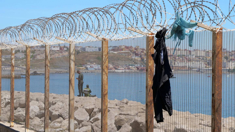 Crisis migratoria en Ceuta y Melilla. (Reuters)