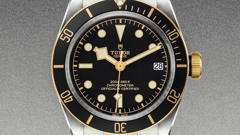Foto: Uno de los relojes presentes en la campaña 'Born to dare' de Tudor.