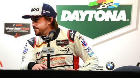 Alonso: El cinturón de seguridad, entre las piernas, lo necesito más largo...