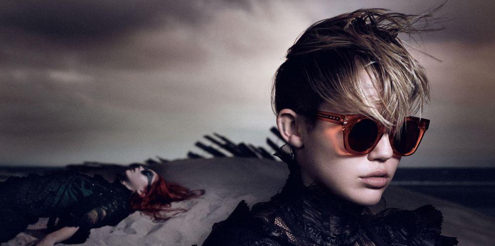 Foto: Miley Cyrus, en una campaña publicitaria