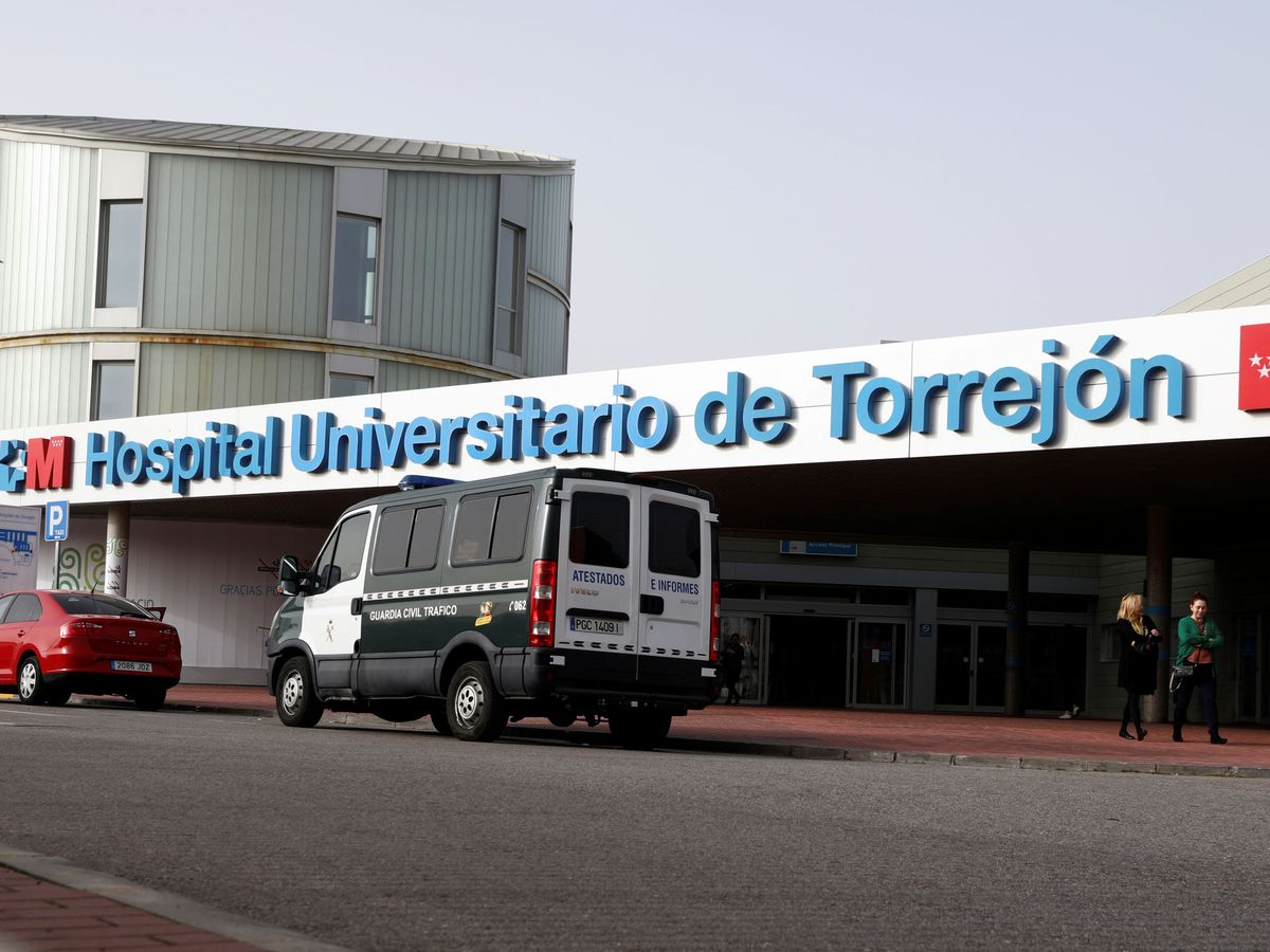 Foto: Vista exterior del hospital de Torrejón de Ardoz. (Reuters)