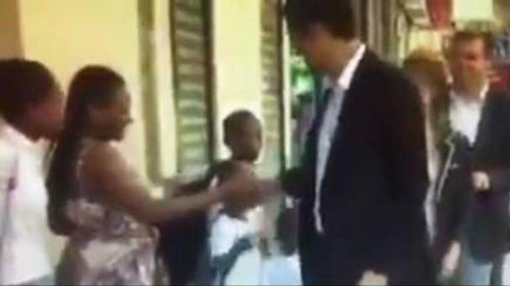 Foto: Imagen del vídeo de la polémica.