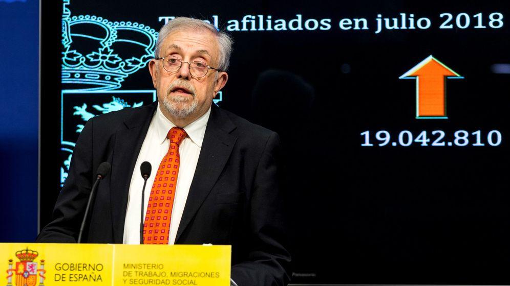 Foto: Octavio Granados, secretario de Empleo y Seguridad Social. (EFE)