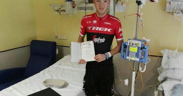 Juanfran, el ciclista al que Armstrong empuja en su lucha contra la leucemia