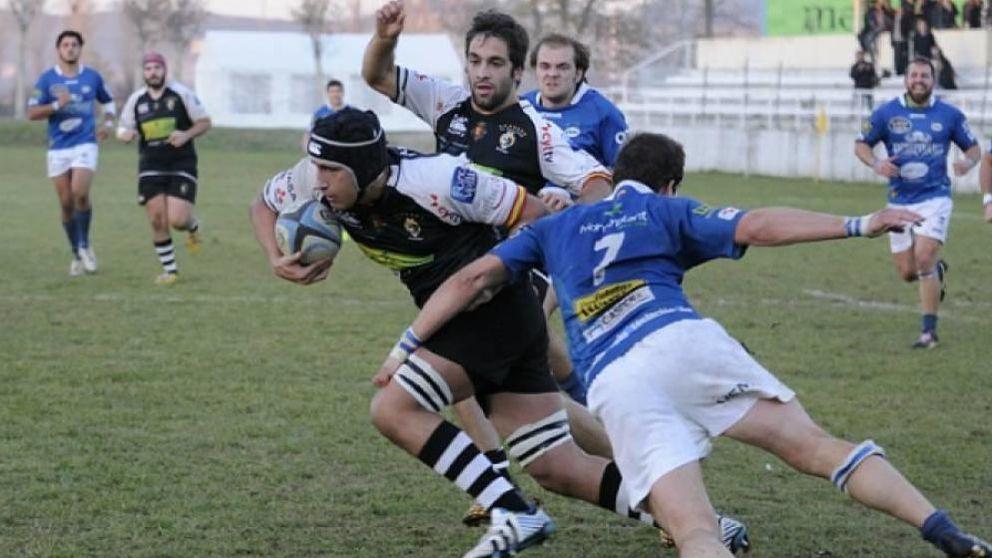 En los colegios de Valladolid hace tiempo que se juega al rugby