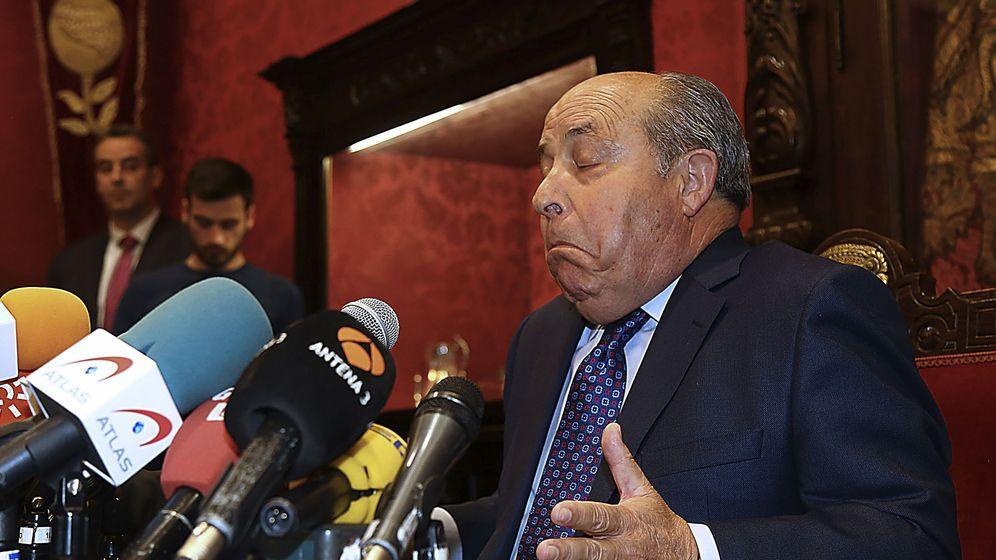 Foto: El alcalde de Granada, José Torres Hurtado. (EFE)