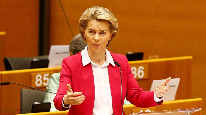 La presidenta de la Comisión Europea, Ursula von der Leyen. (Reuters)