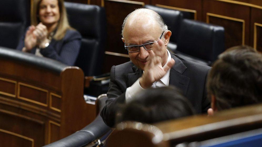 Foto: Fotografía de archivo del ministro de Hacienda, Cristóbal Montoro. (EFE)