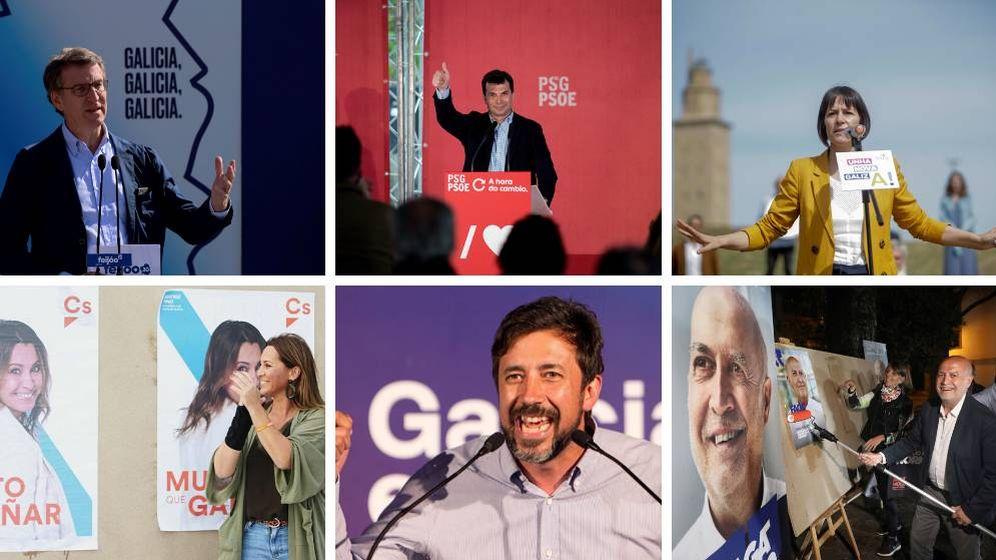 Foto: De Alberto Núñez Feijóo a Ana Pontón, todos los candidatos a las elecciones al Parlamento de Galicia de 2020