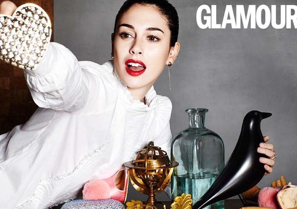 Foto: Blanca Suárez para la revista 'Glamour' del mes de marzo