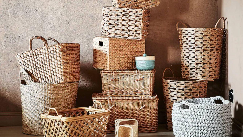 Las cestas y cajas de Ikea, Primark Home y Leroy Merlin para decir adiós al desorden
