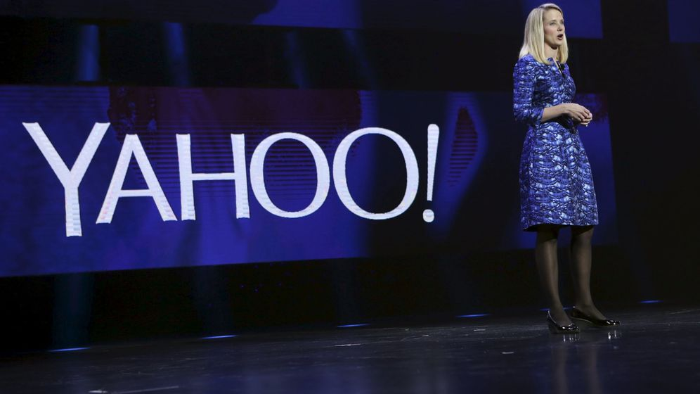 Foto: Marisa Mayer, CEO de Yahoo (Reuters)