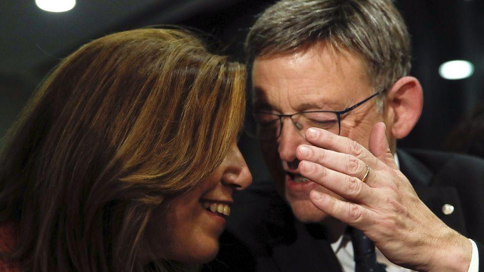 Díaz y Puig saldan su 'deuda' con Tomás Gómez con una cena en Madrid