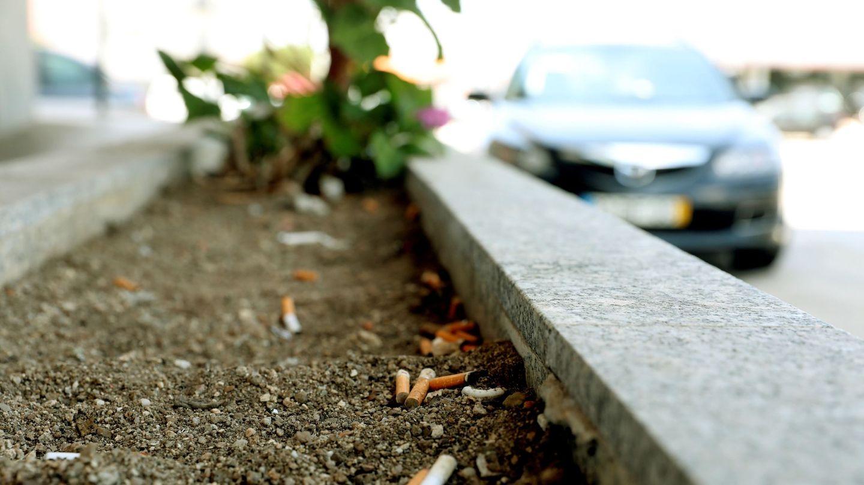 Las colillas son uno de los residuos más abundantes (EFE)