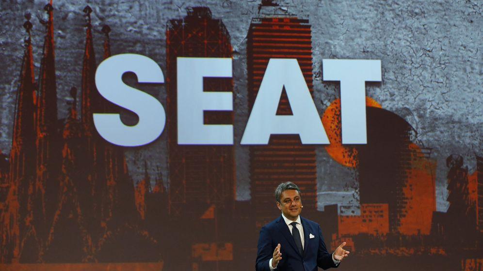 Foto: El presidente y CEO de Seat, Luca de Meo. (Reuters)