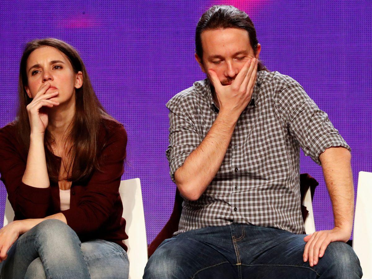 Foto: Pablo Iglesias e Irene Montero. (Reuters)