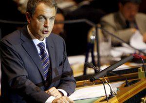 Zapatero reclama en la ONU una moratoria universal de pena de muerte en 2015