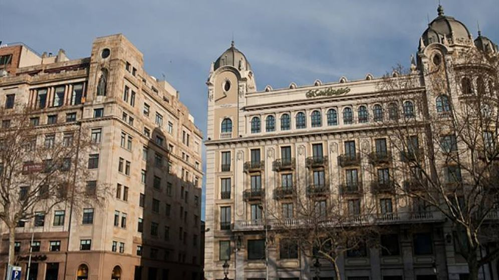 Foto: Edificio de Zambal en Plaza Catalunya 23.
