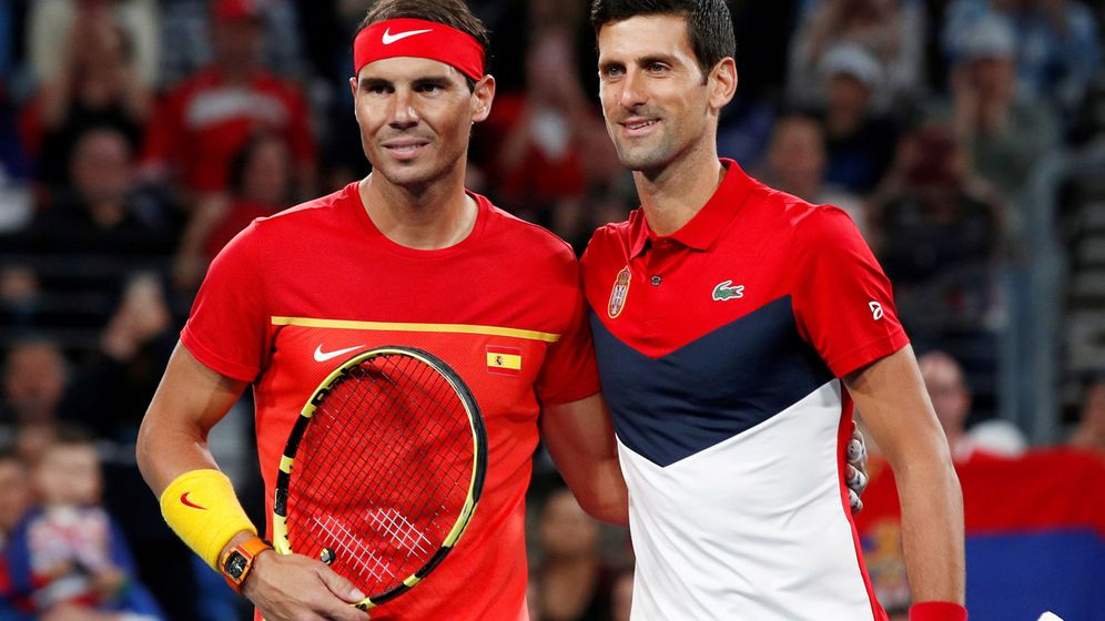 Foto: Nadal se juega igualar a Federer ante el peor rival, Djokovic. (Reuters))