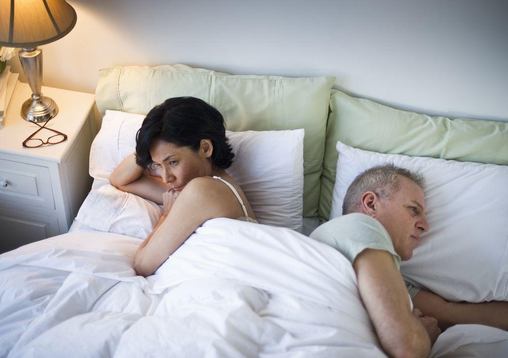 Foto: El paso del tiempo es uno de los factores que más juegan en contra del deseo sexual en el matrimonio. (Corbis)