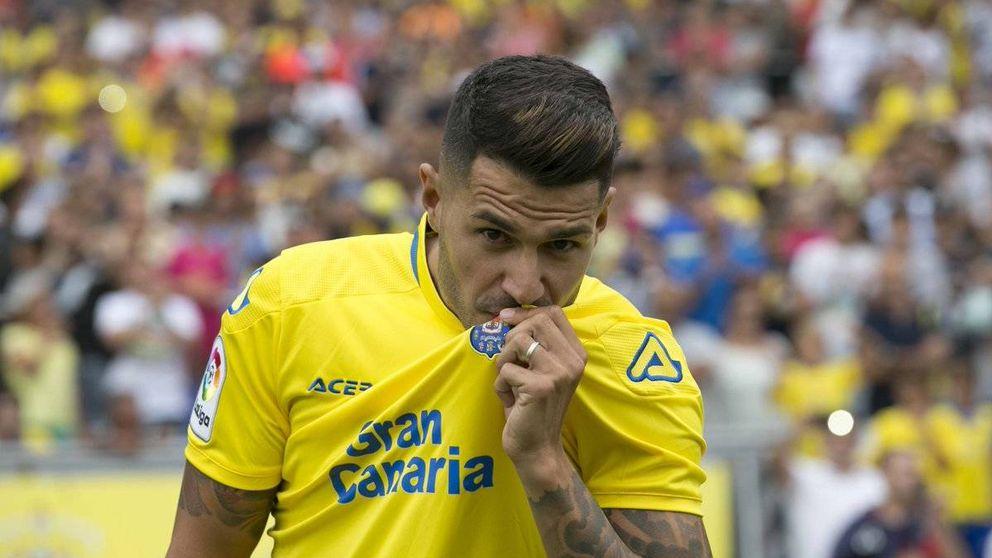 Vitolo vuelve a la casa que le vio nacer, el UD Las Palmas
