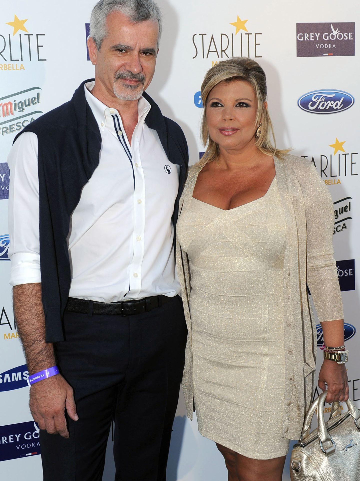 Terelu Campos junto a su actual pareja, José Valenciano (Gtres)