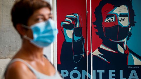 Remedios par el calor y arte para concienciar del uso de mascarillas: el día en fotos