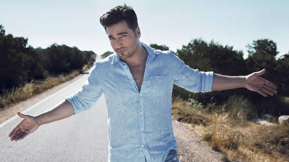 Foto: David Bustamante en una imagen de su nuevo videoclip.
