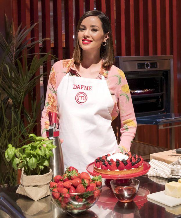 Foto: Dafne Fernández, en 'MasterChef Celebrity'. (TVE)