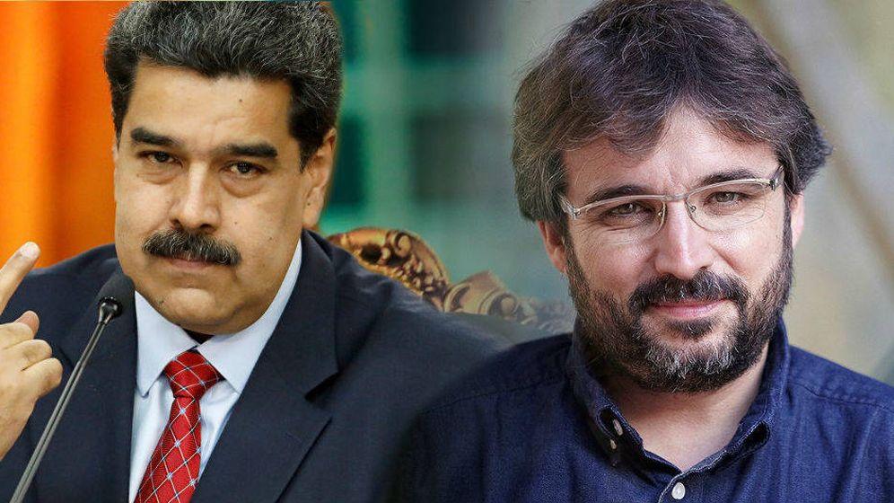 Foto: Nicolás Maduro y Jordi Évole.