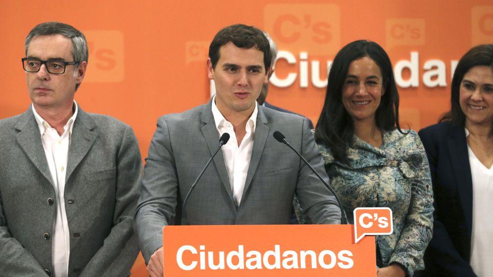 Foto: El candidato a la presidencia del Gobierno, Albert Rivera, valora los resultados tras reunirse su Ejecutiva Nacional (Efe)