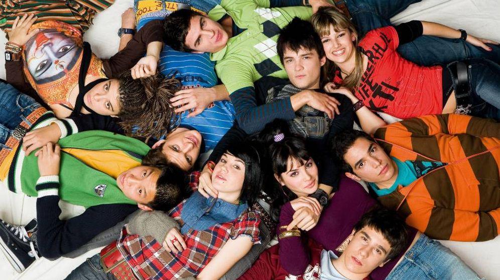 Foto: Los protagonistas de 'Física o Química'. (Antena 3)
