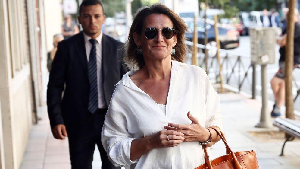 Foto: La ministra de Energía y Medio Ambiente en funciones, Teresa Ribera. (EFE)