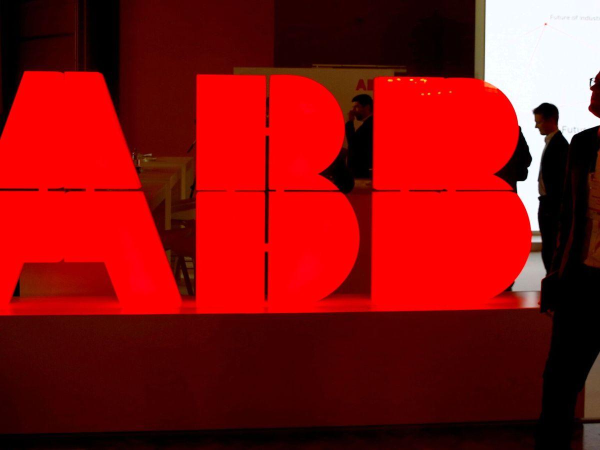 Foto: Logo de ABB. (Reuters)