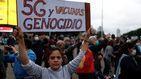 Cientos de personas piden en Buenos Aires el fin del confinamiento
