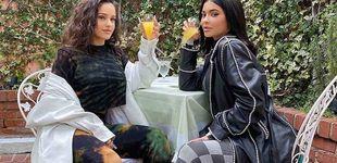 Post de Rosalía, una Kardashian más: su 'terraceo' con Kylie Jenner que ha enloquecido las redes