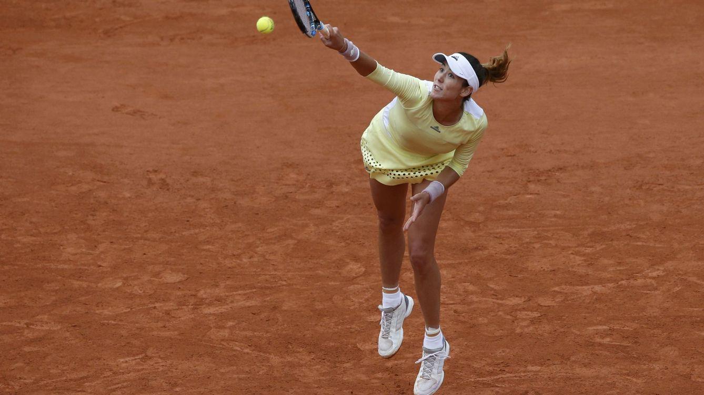 Garbiñe Muguruza sobrevive a sí misma en la primera ronda de Roland Garros