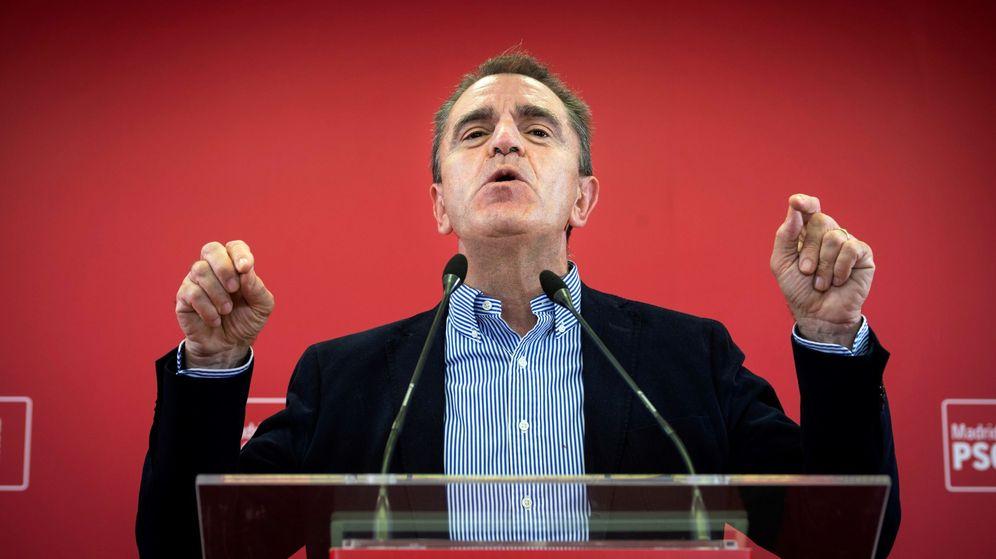 Foto: El portavoz del PSOE en la Comunidad de Madrid, José Manuel Franco. (EFE)