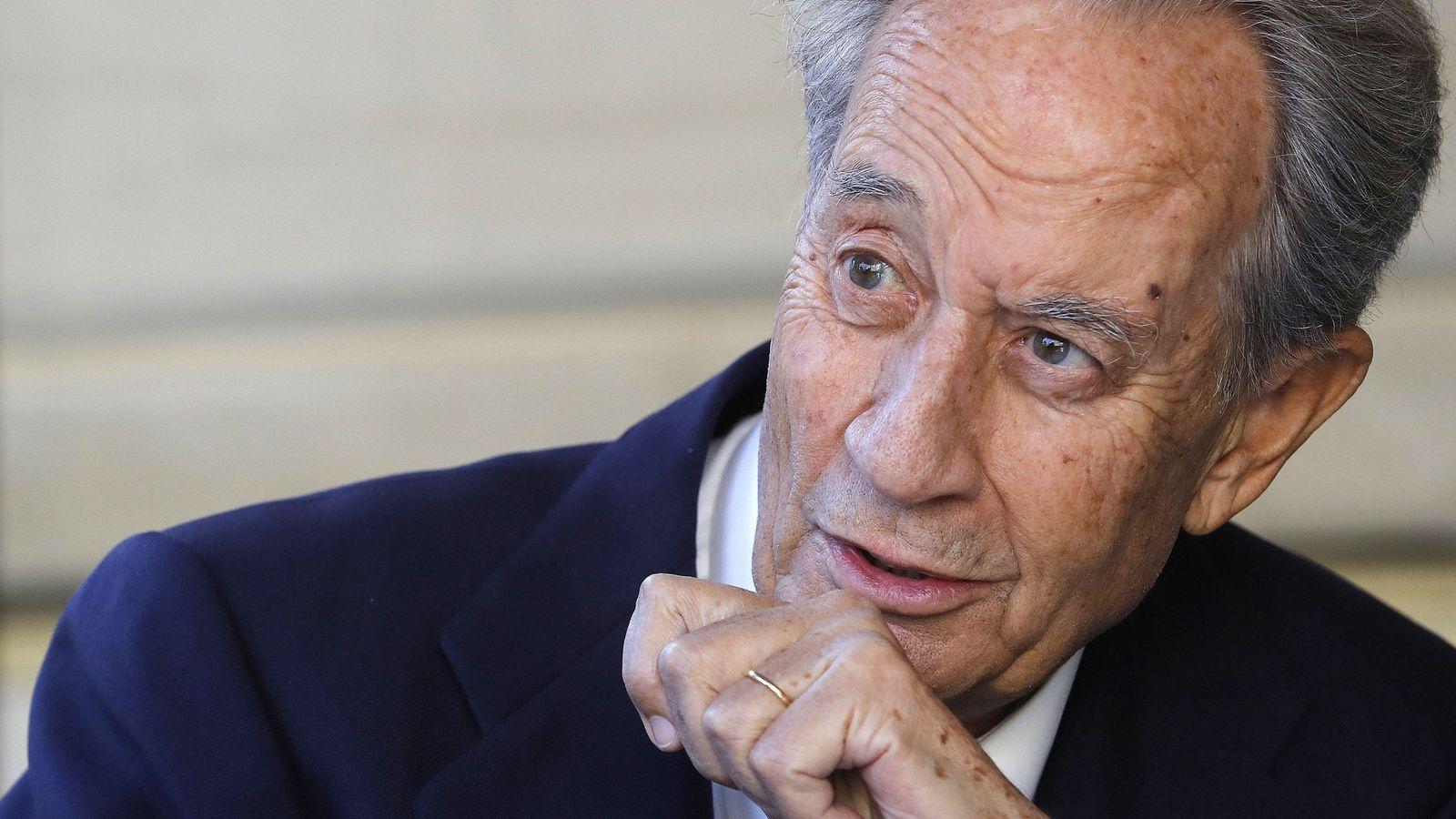 Foto: Juan Miguel de Villar Mir, expresidente de OHL