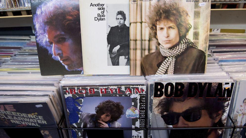 Foto: Discos de Bob Dylan. (EFE)