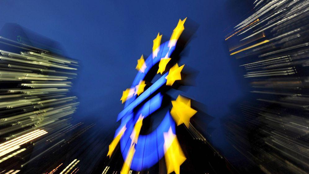 Foto: Imagen del logo del BCE. (Efe)