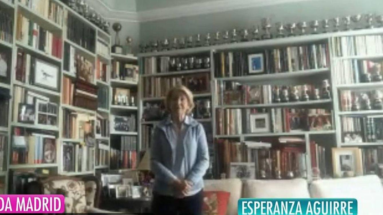 El interés, más allá del coronavirus, que ha generado Esperanza Aguirre en su conexión con Ana Rosa