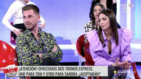 La enésima humillación de Tom a Sandra por la loca propuesta de 'MYHYV'
