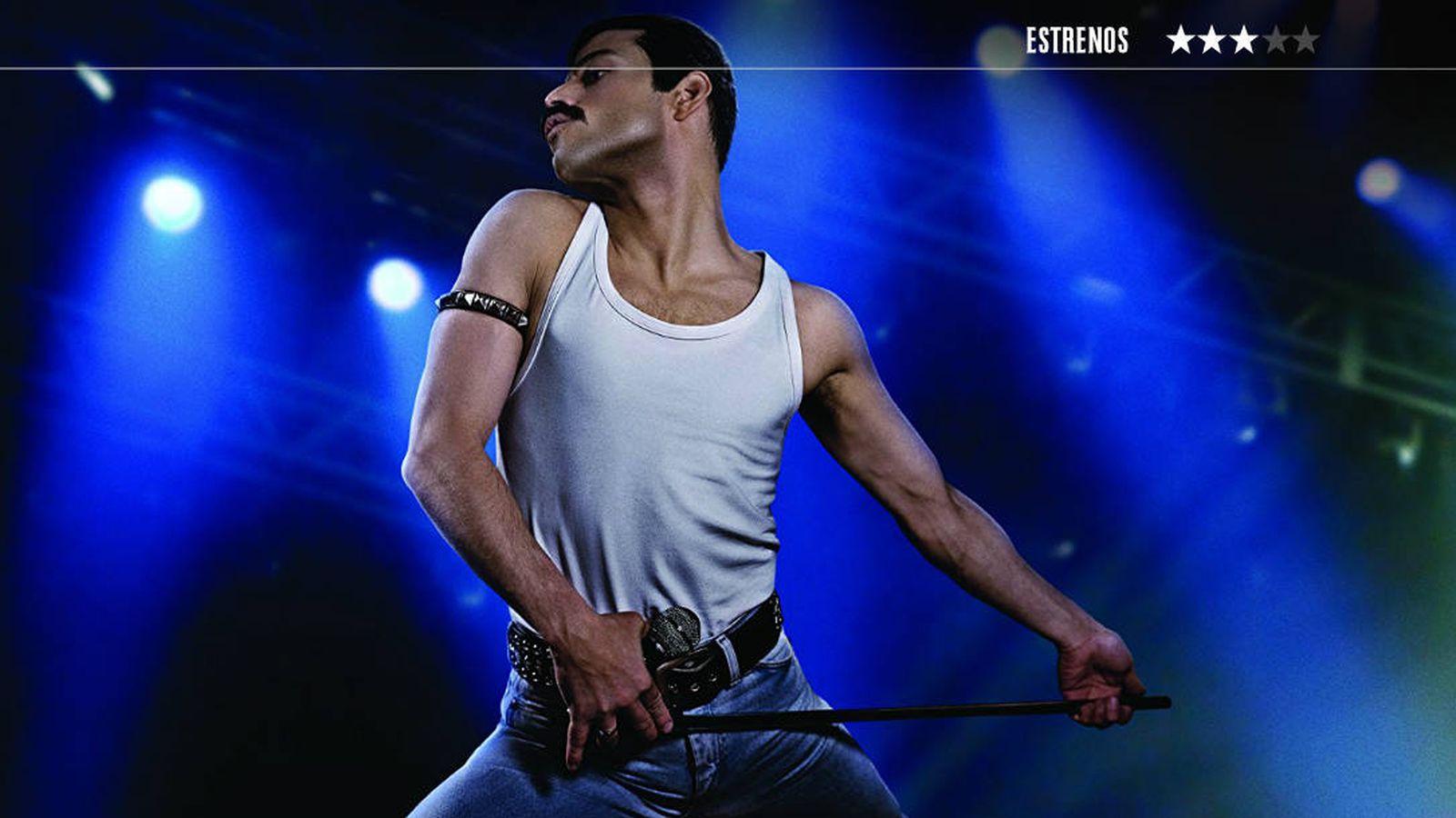 Foto: Rami Malek es Freddie Mercury en 'Bohemian Rhapsody'. (Fox)