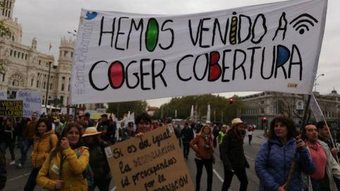 La 'España vaciada' llega a Madrid: Queremos inversiones, no palabras
