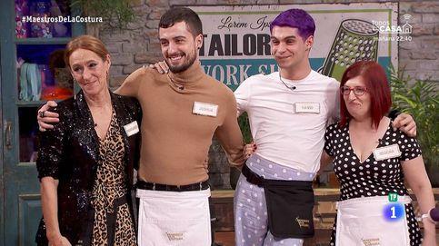Joshua, Begoña, Margarita y David, finalistas de 'Maestros de la costura'