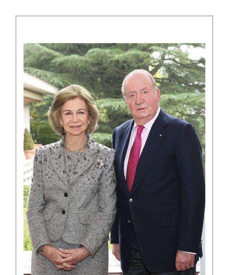 Foto: Los reyes Juan Carlos y Sofía.