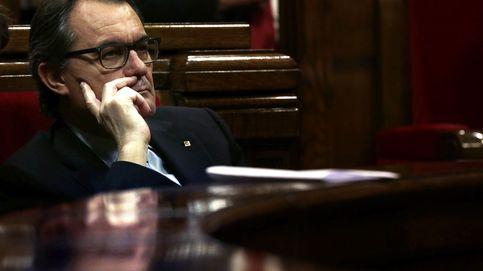 El pleno de investidura de Puigdemont, en imágenes